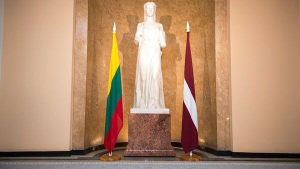 Флаги Латвии и Литвы - Sputnik Latvija