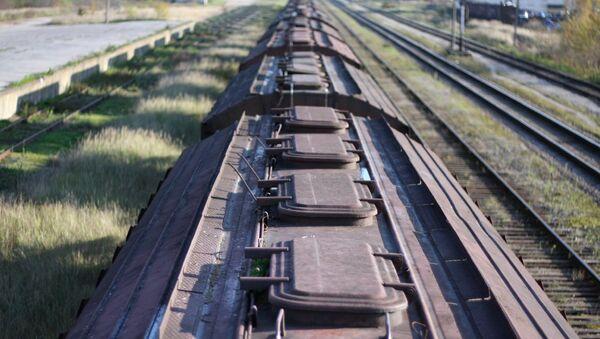Вагоны поезда - Sputnik Латвия