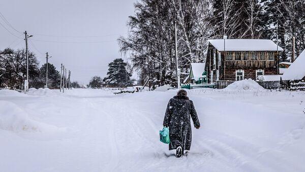Бобровка, деревенский пейзаж - Sputnik Латвия