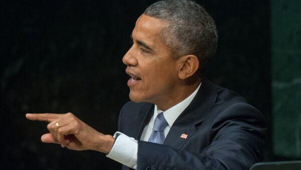 Pašreizējais ASV vadītājs Baraks Obama. Foto no arhīva - Sputnik Latvija