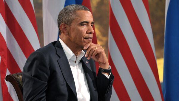 Президент США Барак Обама - Sputnik Latvija