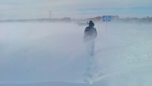 Снегопад - Sputnik Latvija