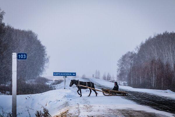Sibīrija visā krāšņumā: Naivie ceļotāji Omskas apgabalā - Sputnik Latvija