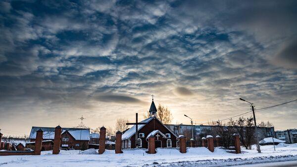 Католическая церковь Ачинска - Sputnik Латвия