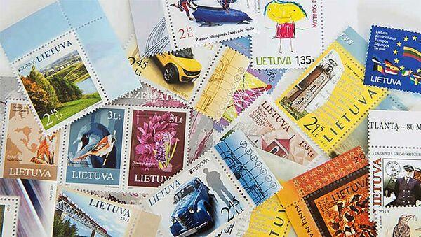 Литовские почтовые марки - Sputnik Латвия