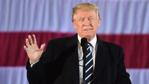 Jaunievēlētais ASV prezidents Donalds Tramps. Foto no arhīva - Sputnik Latvija