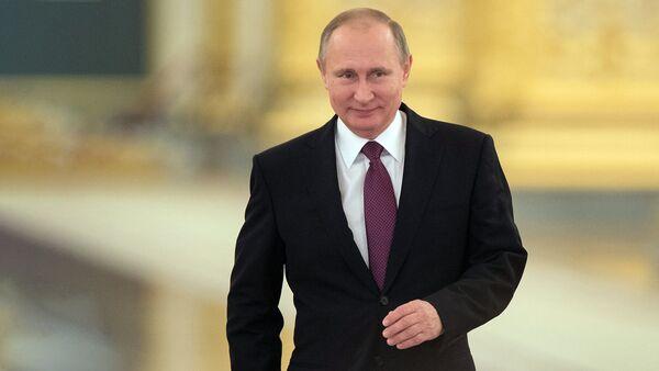 Президент РФ В. Путин провел заседание Совета по развитию гражданского общества и правам человека - Sputnik Латвия