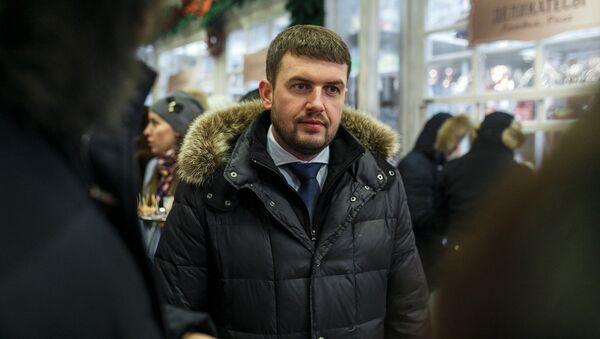 Директор Рижского центрального рынка Андрис Морозов - Sputnik Латвия