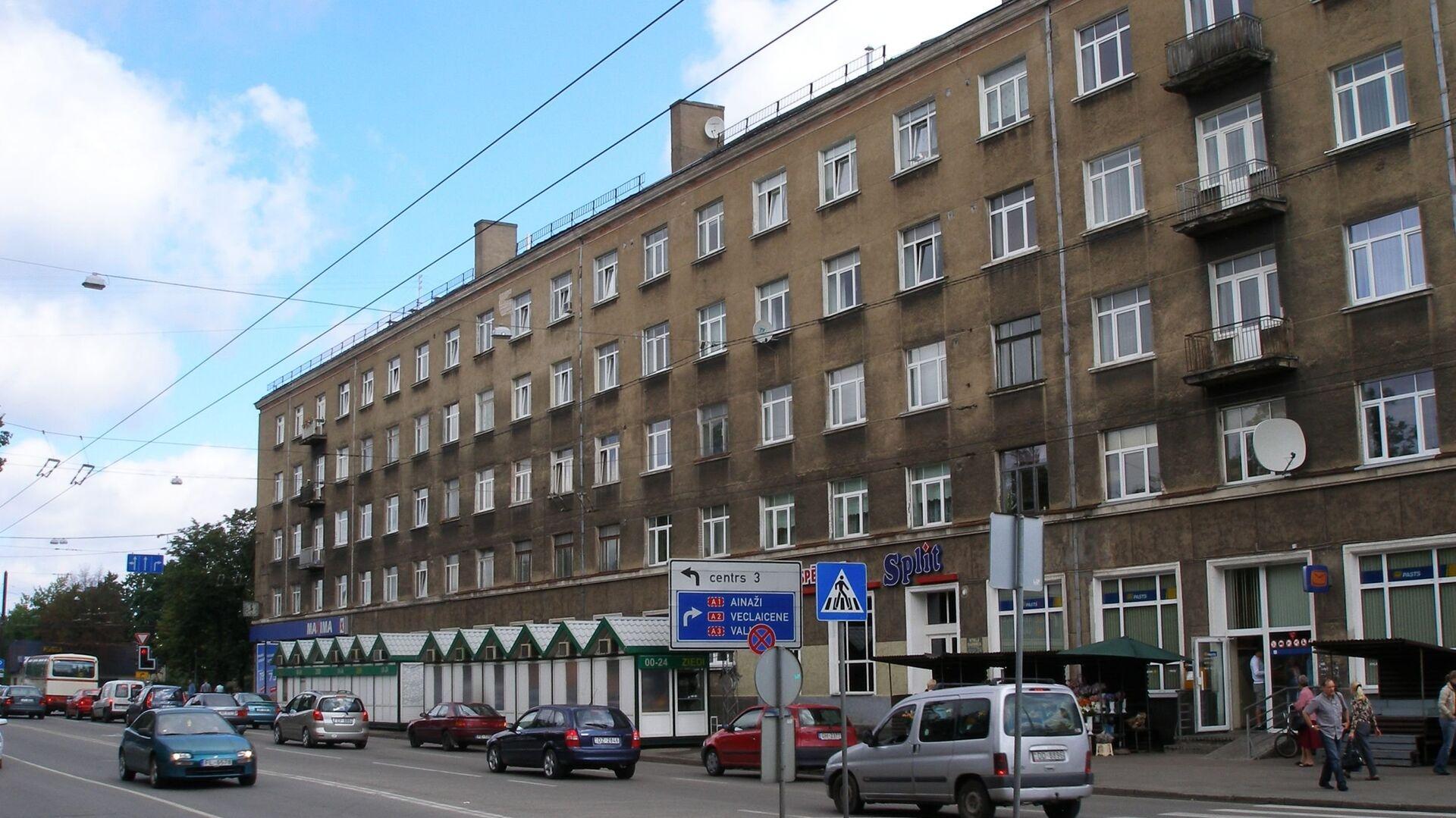 Микрорайон Тейка в Риге - Sputnik Латвия, 1920, 02.08.2021