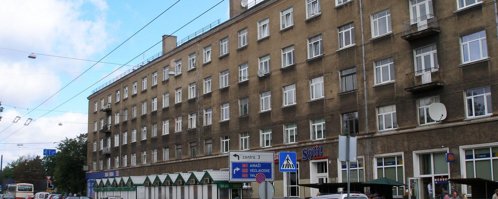 Микрорайон Тейка в Риге - Sputnik Латвия, 1920, 14.10.2020