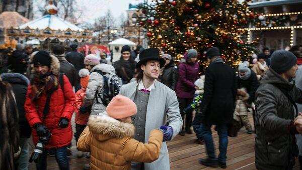 Maskavieši mācās latviešu dejas - Sputnik Latvija