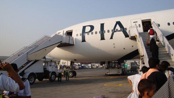 Pakistan International Airlines (PIA). Foto no arhīva - Sputnik Latvija
