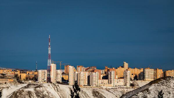 Величественный и гармоничный симбиоз рукотворного урбанизма с естественной красотой природы - Sputnik Latvija
