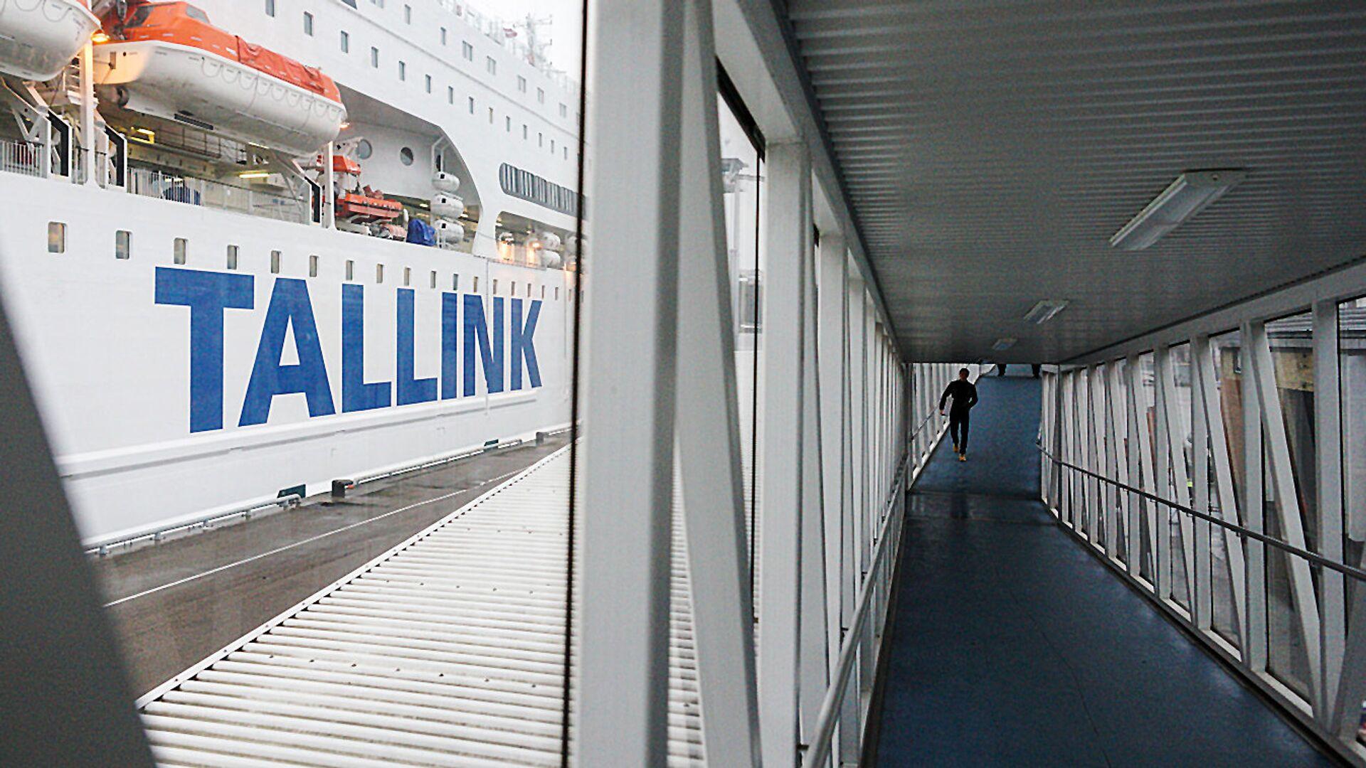 Новый паром компании Tallink, Romantika - Sputnik Латвия, 1920, 28.06.2021
