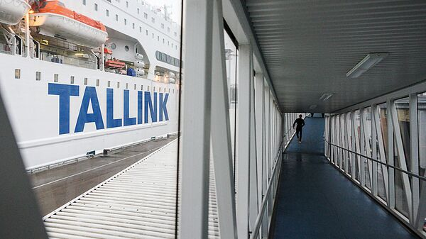 Новый паром компании Tallink, Romantika - Sputnik Latvija