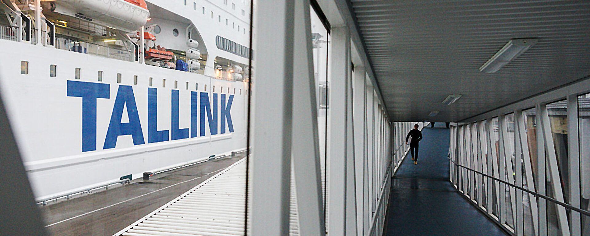Новый паром компании Tallink, Romantika - Sputnik Латвия, 1920, 10.06.2021