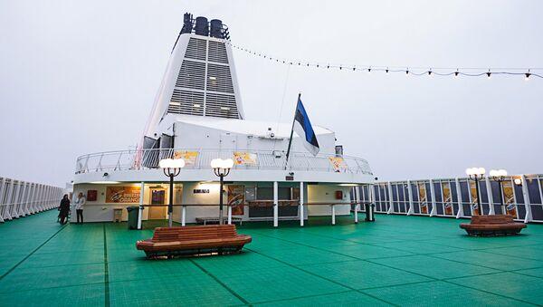 Новый паром компании Tallink, Romantika - Sputnik Латвия