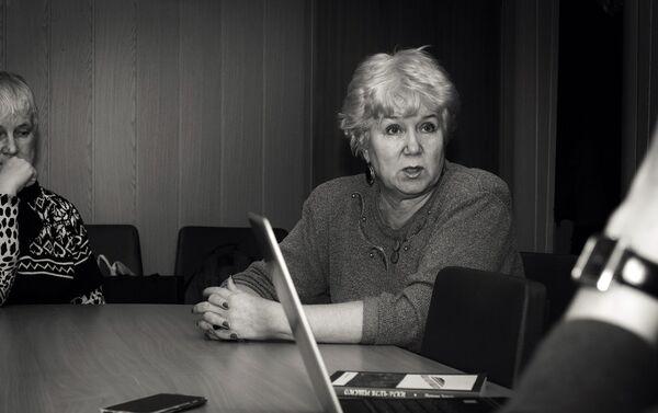 Tatjana Černova. Smoļenskas reģionālās sabiedriskās latviešu tautiešu organizācijas Saknes priekšsēdētāja - Sputnik Latvija