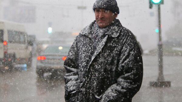 Мокрый снег - Sputnik Латвия
