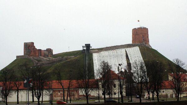 Гора Гедиминаса в Вильнюсе - Sputnik Латвия