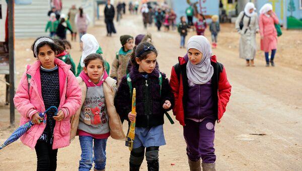 Сирийские дети - Sputnik Latvija