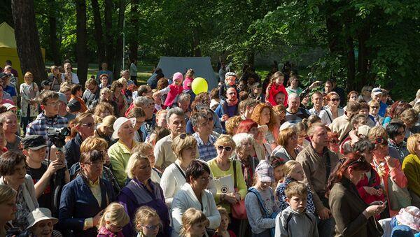 Массовое мероприятие в Таллине - Sputnik Латвия