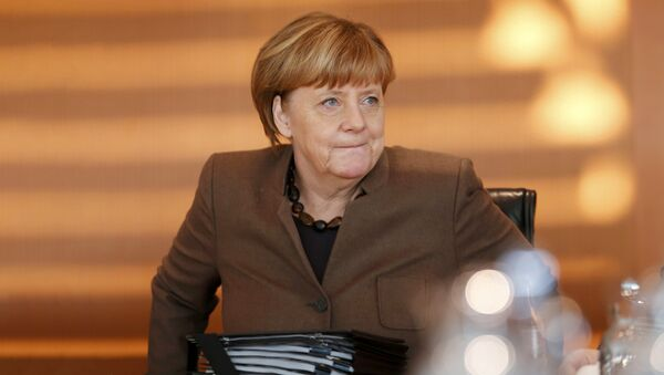 Канцлер Германии Ангела Меркель - Sputnik Latvija