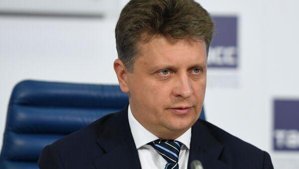Министр транспорта РФ Максим Соколов - Sputnik Латвия