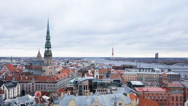 Вид старого города с птичьего полета - Sputnik Латвия