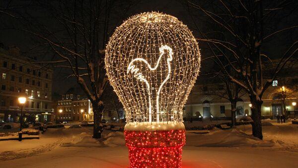 Елка Рождественская лампочка - Sputnik Латвия