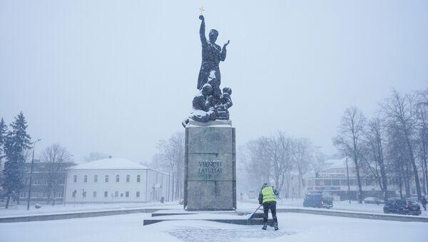 Символ Резекне Латгальская Мара - памятник освобождения Латгалии - Sputnik Латвия