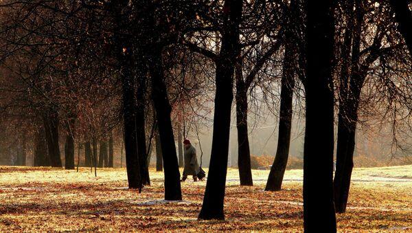 Pensionāre parkā. Foto no arhīva - Sputnik Latvija