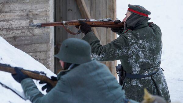 Основная винтовка немецкой армии Маузер 98К - Sputnik Латвия