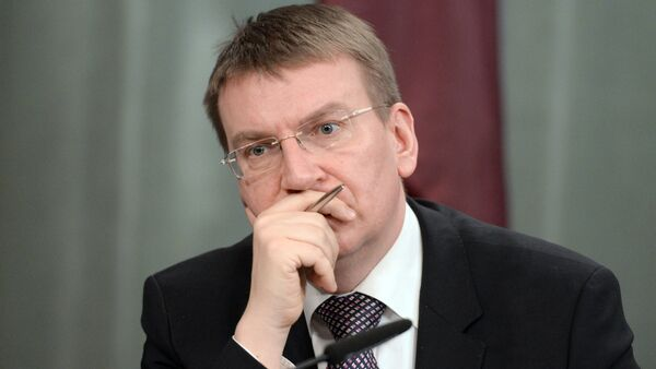 Глава МИД Латвии Э.Ринкевичс - Sputnik Latvija