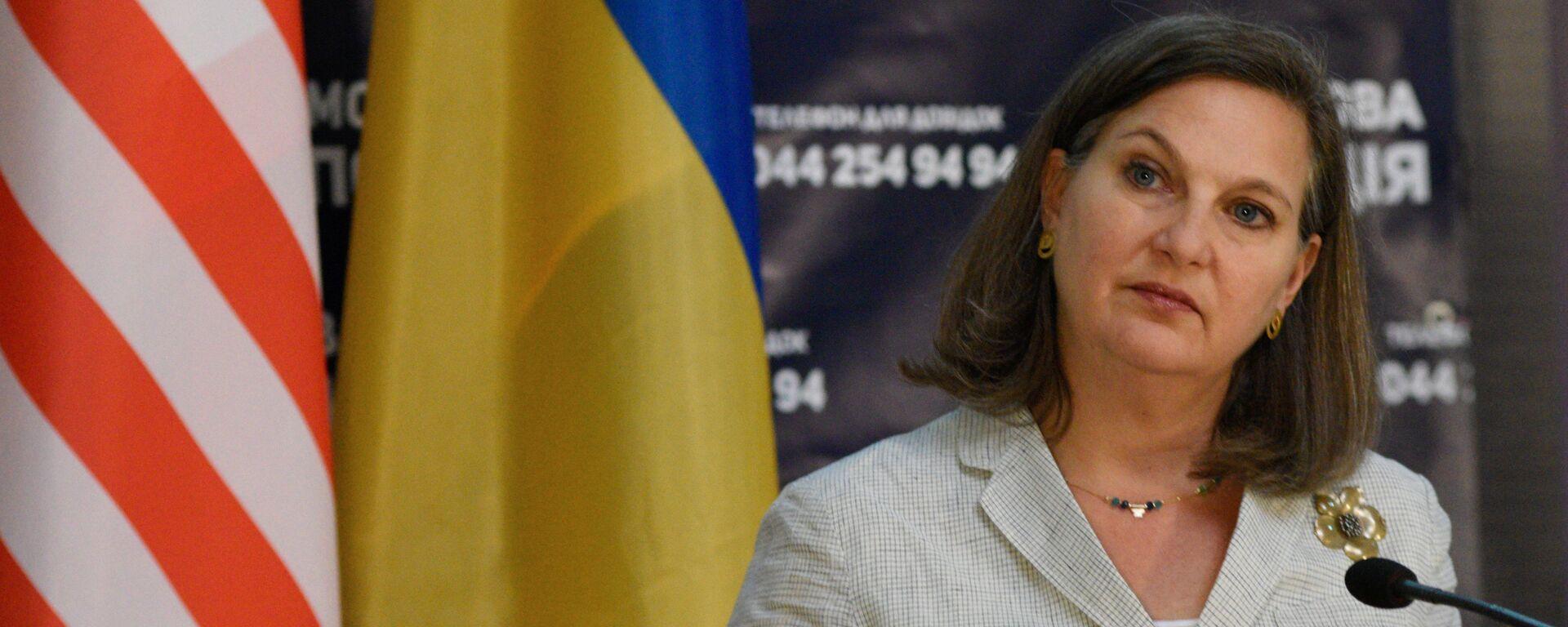 Помощник госсекретаря США Виктория Нуланд в Киеве - Sputnik Latvija, 1920, 24.05.2019