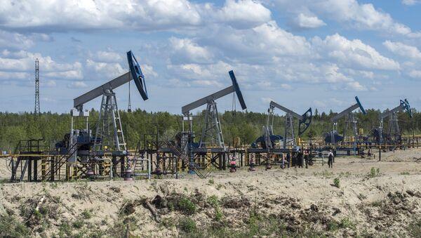 Нефтяные станки-качалки - Sputnik Latvija