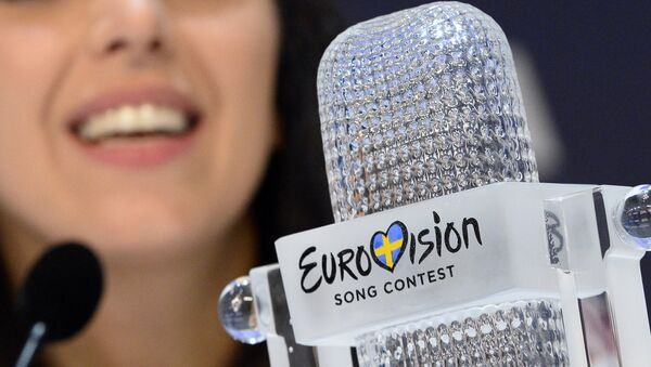 Статуэтка победителя Евровидения - Sputnik Латвия