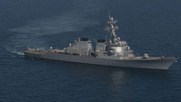 Эсминец Mahan ВМС США - Sputnik Латвия