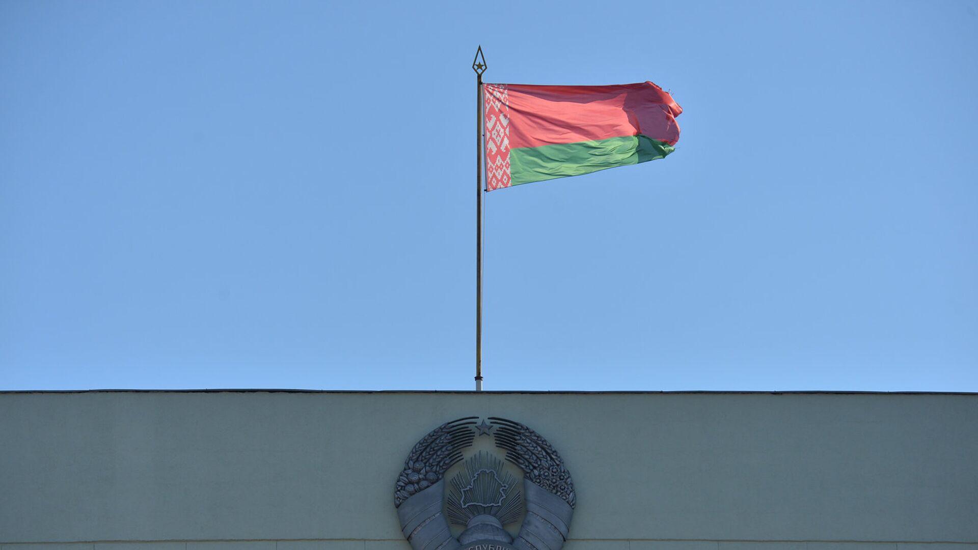Герб и флаг Республики Беларусь - Sputnik Латвия, 1920, 09.06.2021