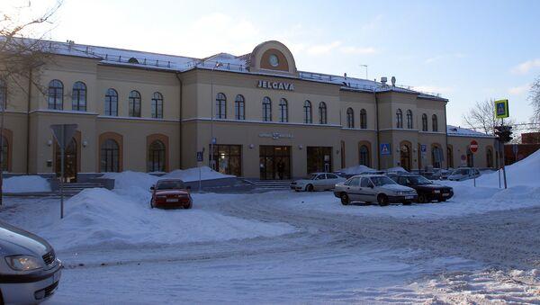 Железнодорожная станция Елгава - Sputnik Latvija