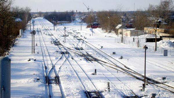 Железнодорожная станция - Sputnik Latvija