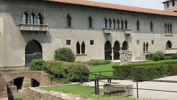 Castelvecchio muzejs Veronas pilsētā - Sputnik Latvija