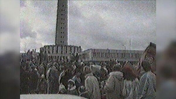 Uzbrukums televīzijas tornim Viļņā: 1991. gada ieraksts - Sputnik Latvija