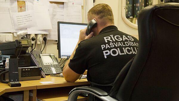 Муниципальная полиция, дежурный - Sputnik Латвия