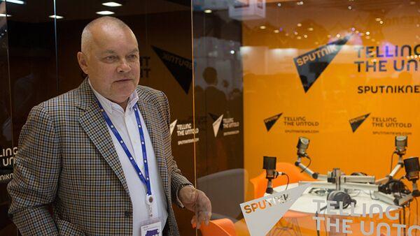 Руководитель информационного агентства Россия сегодня Дмитрий Киселев - Sputnik Латвия