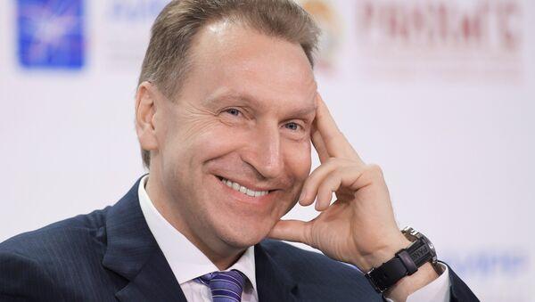 Первый заместитель председателя правительства РФ Игорь Шувалов - Sputnik Латвия
