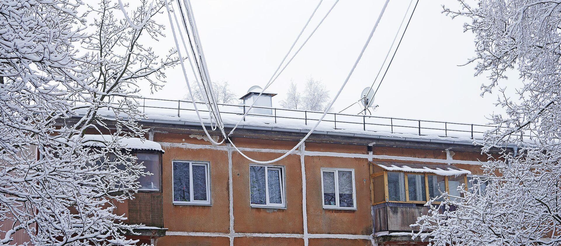 Снег в Риге - Sputnik Латвия, 1920, 16.01.2021