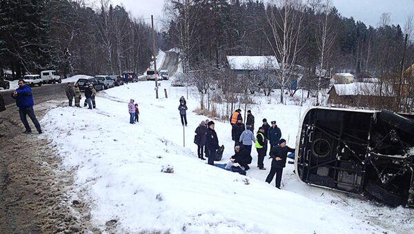 Авария автобуса в Карелии - Sputnik Латвия