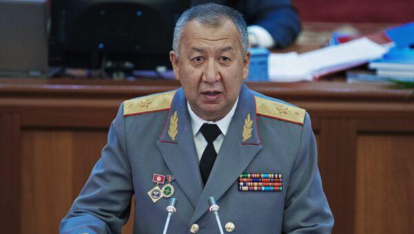 Министр чрезвычайных ситуаций Киргизии Кубатбек Боронов - Sputnik Латвия