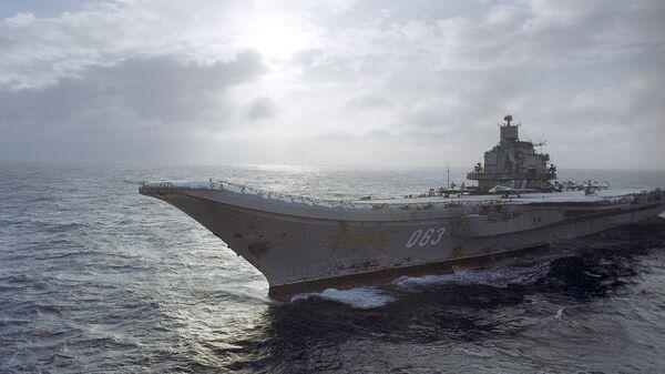 Тяжелый авианесущий крейсер Адмирал Кузнецов - Sputnik Латвия